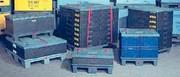 Kunststoff-Palettentechnik: Sicher transportieren