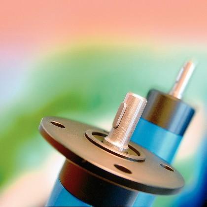 Druckluftlamellenmotor: Starker Anlauf
