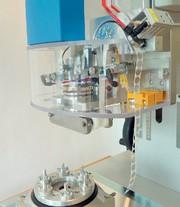 Filtermedien: Membranen Stanzen und Schweißen - mit Ultraschall in einem Schritt
