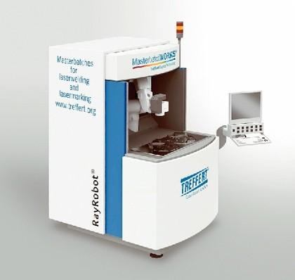 Lasermarkieren: Lasermarkieren mit dem 6-Achser