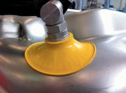 Vakuumsauger und Doppelblechkontrolle: Ziehen ohne Beulen