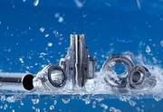 Verschraubungen: Für molchbare Rohrleitungen