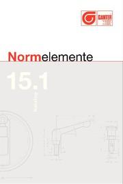 Kataloge: Otto Ganter GmbH & Co. KG Normteilefabrik