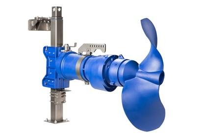 Tauchmotor-Rührwerk: Robuster Quirl