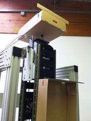Vertikalförderer: Senkrecht nach unten