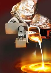 Gießerei-Roboter: Löffel am langen Arm