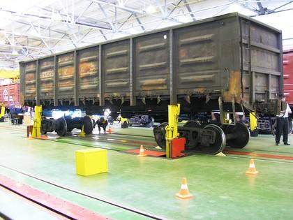 Russische Eisenbahn steigert Wartungsleistung mit RFID-Lösung erheblich: Retrofit für die Russen-Bahn