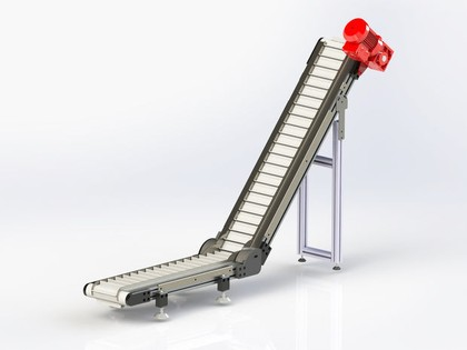 Mit Online-Konstruktion der Förderbänder schneller zum Angebot.: Schneller zum Band
