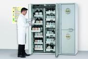 Gefahrstofflagerung: Gefahrstofflagerung - effektiv und effizient
