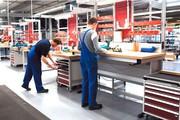 Arbeitsplatzsystem: Einfacher gestalten