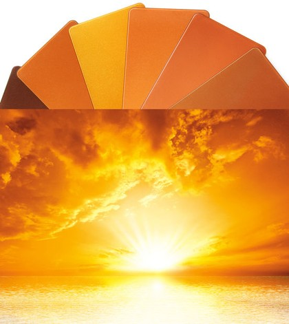 Perlglanzpigment Sunset Orange