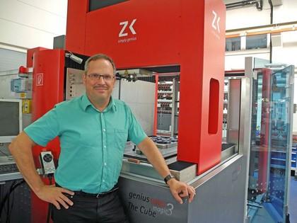 """Additive Fertigung: """"Das Metall-Laserschmelzverfahren spart Zeit in Konstruktion und  Fertigungsphase"""""""