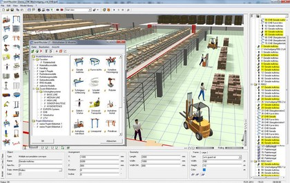 Software: Logistik-und Produktionsszenarien