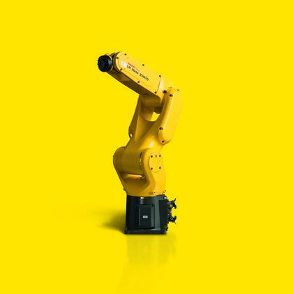 LR Mate von Fanuc in einer Weiterentwicklung für sieben Kilogramm Tragkraft: Wie ein menschlicher Arm
