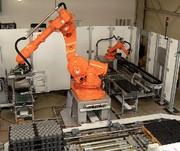 Depalettier-Roboter: Lasertaster statt Kameras