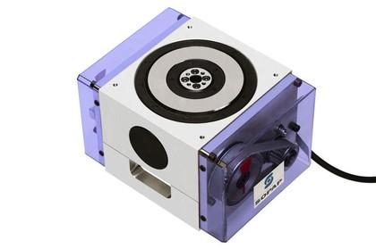 Mini-Drehtisch: Kompakt untergebracht