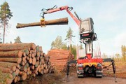 Holzladekran: Ein starker Helfer