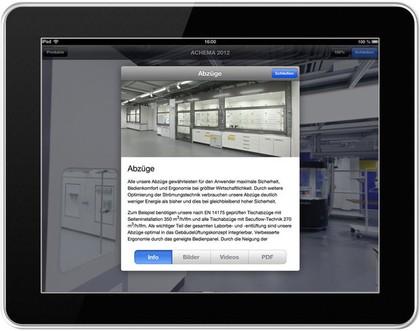 SCALA Laboreinrichtungen: Im App-Store