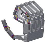 Schneckengetriebe verbessert Bewegungsfähigkeit von Roboterhänden: Getriebe in der Fingerkuppe