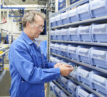 Behälter- und Regaltechnik: Für Kanban-Prozesse