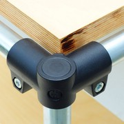 Rohrverbinder: Gestelle variabel zusammen setzen