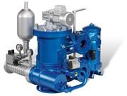 Brennstofffilter: Spülfunktion mit hydraulischem Antrieb