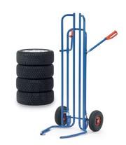 Reifenkarren: Reifen rollen leichter
