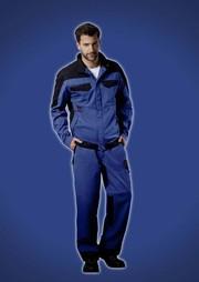 Schutzkleidung: Jetzt auch in Königsblau