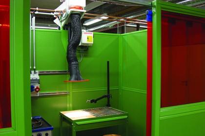 Absaug- und Filteranlagen: Sicher schweißen