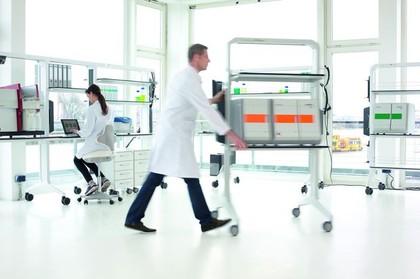 Laboreinrichtungssystem LABterminal: red dot award für flexibles Laboreinrichtungssystem