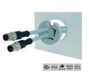 Kabeleinführungssysteme: Kabel in die Tülle