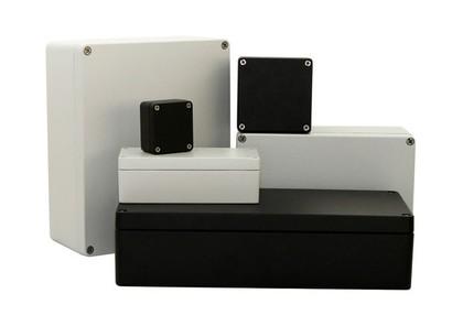 Aluminium-Gehäuseserie GH02AL004: Gehäuse für Industrie