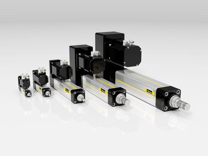 Elektrozylinder: Bei erhöhter Produktionssicherheit