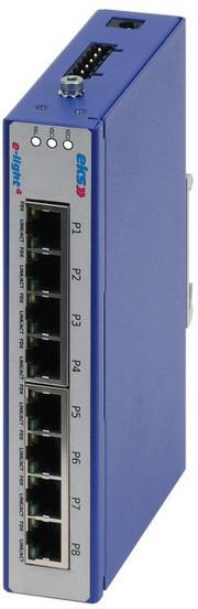 Basic-Switches: Unterstützen Fast Ethernet
