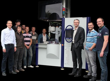Berührungsloses 3D-Inline-Prüfsystem zur Ringinspektion: Runde Teile ohne Fehler