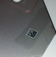 Teilekennzeichnung: Statt Thermodruck