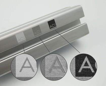 Beschriftungslaser: Aluminium schneller beschriften