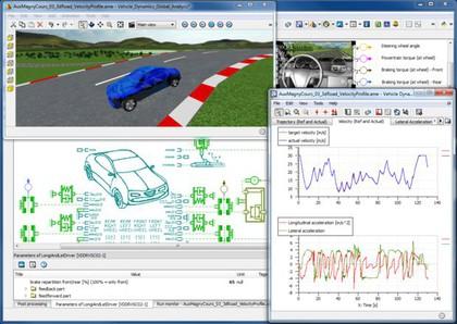 Software: Simulation mechatronischer Systeme