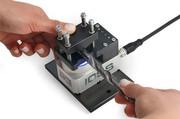 Laserkennzeichnung: Kompakter Handarbeitsplatz