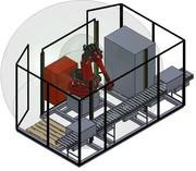 Modulare Roboterzelle MRZ: Modulare Roboterzelle