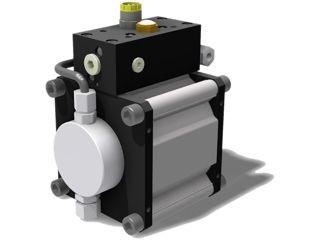 Hydraulik-Hochdruckpumpe: Effizienter durch Pneumatik