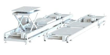 Transportsystem für große Baugruppen: Barrierefrei zum Platz
