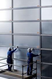 Schutz-System: Wände für Winddruck schützen