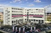 Modulgebäude: Verwaltungsgebäude für Germanwings