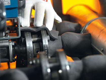 Isoliermaterial: Verwinkelte Rohrsysteme isolieren