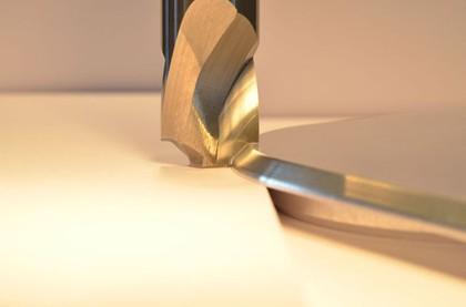 Fräser: Konturfräser für Aluminiumdeckel