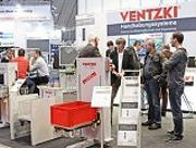 Messestand Ventzki Handling Systems