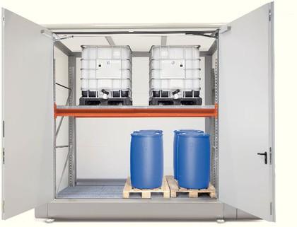 Gefahrstofflager: Zusätzlicher Schutz dank Frühwarnsystem