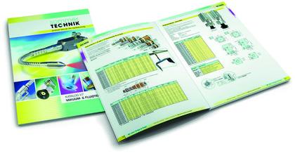 Katalog: Lösungen für die Vakuumtechnik