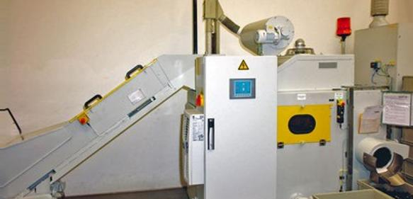 Kunststoffkugel-Strahlanlage